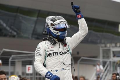 Austrian Grand Prix qualifying: Bottas beats Hamilton to pole