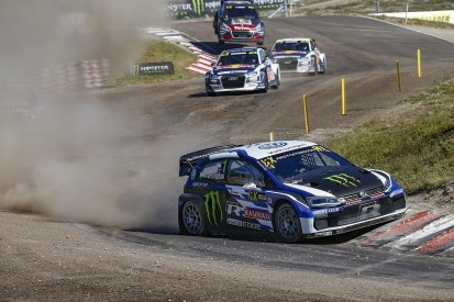 WRX Holjes: Kristoffersson dominates start of home round