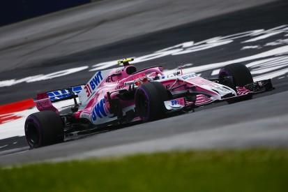 Missing upgrades causing Force India F1 team's Austria struggle