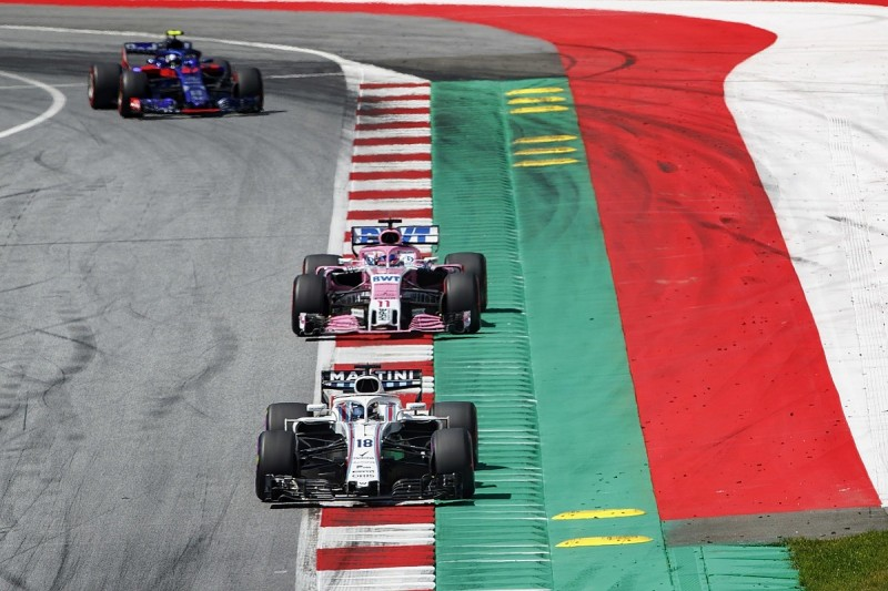 Lance Stroll penalised after Williams's order to avoid being lapped