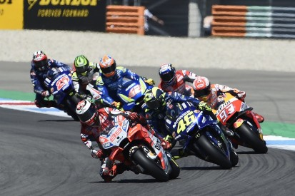 Lorenzo 'very lucky' he or Rossi didn't crash after Assen MotoGP hit