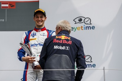 Alessio Lorandi took GP3 podium despite broken collarbone