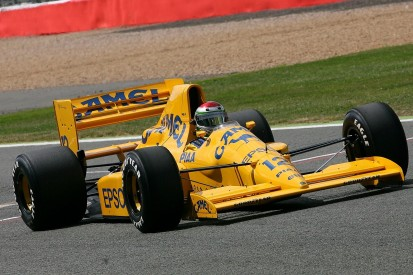 Recent F1 cars join Silverstone Classic demonstration run line-up