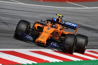 McLaren admits its 2018 Formula 1 car has less downforce than 2017