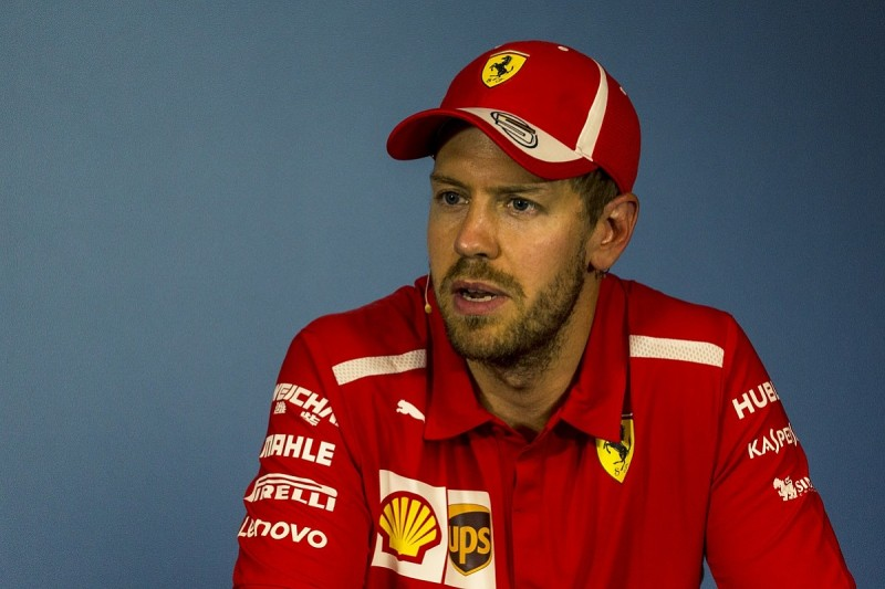 F1 penalty rules mean drivers are not allowed to race - Vettel