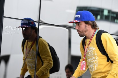 Fernando Alonso denies he played role in McLaren F1 management changes