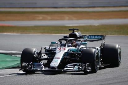British GP F1 practice: Lewis Hamilton leads Mercedes 1-2 in FP1