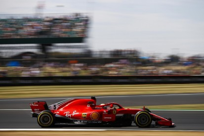 British GP F1 practice: Vettel fastest in FP2, Verstappen crashes