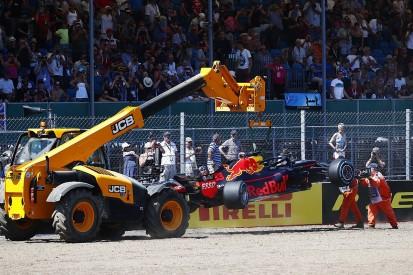 Verstappen says he pushed too hard before British GP FP2 crash