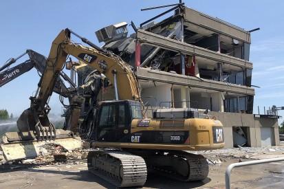 Montreal pits demolished, building work begins for 2019 Canadian GP