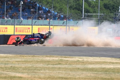 Toro Rosso changes Gasly's suspension after Hartley F1 crash