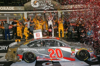 NASCAR Cup Daytona: Jones beats Truex to maiden win in chaotic race