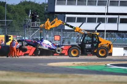 Hartley gets fresh F1 engine parts after British GP practice crash