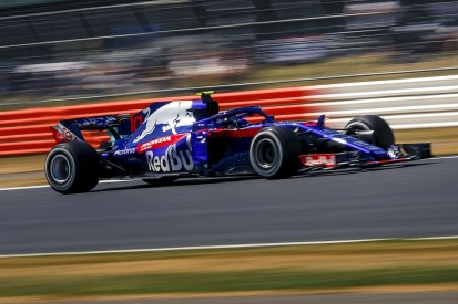 Gasly: Toro Rosso's time loss on straights at Silverstone 'crazy'