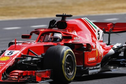 Sebastian Vettel wins British Grand Prix in thrilling dash to the finish