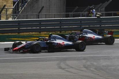 Grosjean sorry for hitting team-mate Magnussen in British GP - Haas