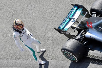 Exhausted Lewis Hamilton was 'struggling to stand' after British GP