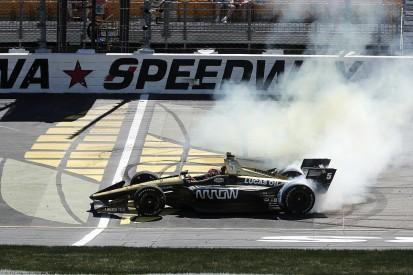 Hinchliffe made 'tough' IndyCar Iowa tyre call in worst-case scenario