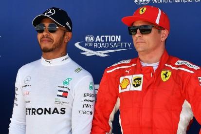 Kimi Raikkonen 'just messed up' in Lewis Hamilton collision - Nico Rosberg