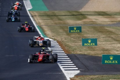 Ferrari junior Fuoco: Norris just crashed into me in Silverstone F2