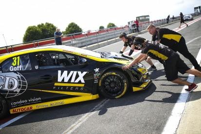 Eurotech Racing's Jack Goff tops second BTCC Snetterton tyre test