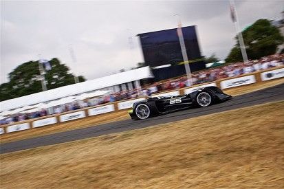 Roborace car completes autonomous Goodwood hillclimb run