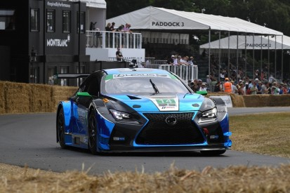 Scott Pruett escapes Lexus fire at Goodwood Festival of Speed