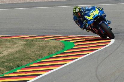 Andrea Iannone and Suzuki top MotoGP's German GP third practice