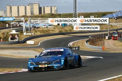 DTM Zandvoort: Gary Paffett takes pole in Mercedes 1-2-3-4 sweep