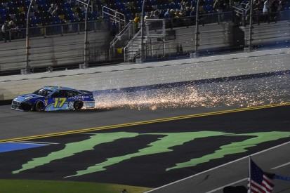 Kyle Busch, Ricky Stenhouse Jr. argue over Daytona crashes