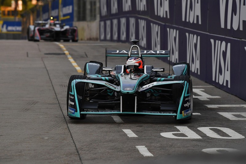 Jaguar's Mitch Evans quickest during Formula E practice in New York