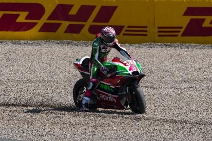Sachsenring MotoGP: Aleix Espargaro ruled out after warm-up crash