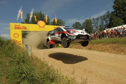 Toyota's Tanak beats Paddon in Estonia ahead of WRC's Rally Finland