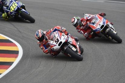Jorge Lorenzo 'not clever' in MotoGP's German GP clash - Petrucci
