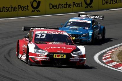 DTM Zandvoort: Race two safety car left Audi leader Rast 'screaming'