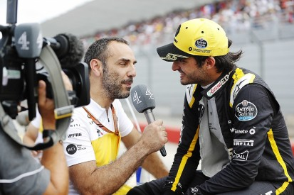 Renault F1 team has to make sure it has alternatives to Carlos Sainz Jr