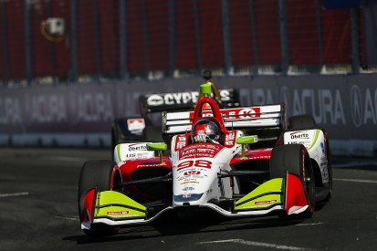 Herta explains how Andretti ran out of fuel in IndyCar Toronto race