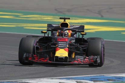 German Grand Prix practice: Ricciardo edges Hamilton in FP1