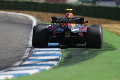 German Grand Prix: Max Verstappen leads Lewis Hamilton in practice