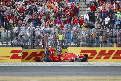 Formula 1: Vettel says he won't lose sleep over German GP crash