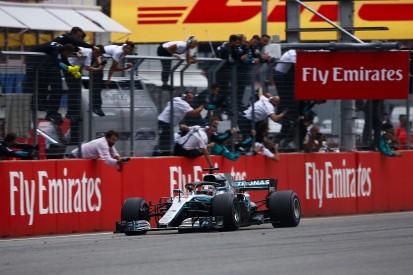 Mercedes kept Hamilton pushing amid German Grand Prix penalty fear