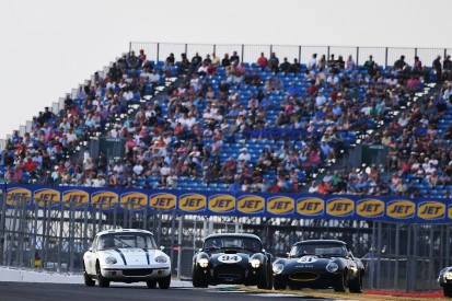 Silverstone Classic: Jake Hill wins International Trophy on Historics debut