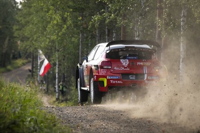 Citroen leads WRC Rally Finland shakedown after 'massive' change