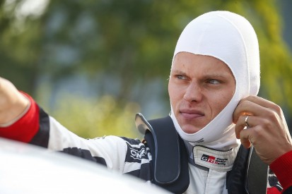 WRC Rally Finland: Ott Tanak leads for Toyota after street stage