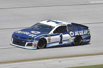 Ganassi's McMurray escapes huge Talladega NASCAR practice crash