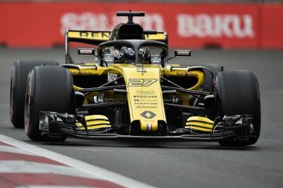 Nico Hulkenberg gets grid penalty for F1 gearbox change in Baku