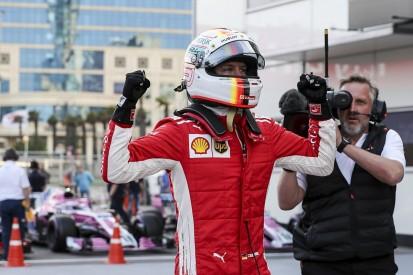 Azerbaijan Grand Prix: Sebastian Vettel claims third straight pole