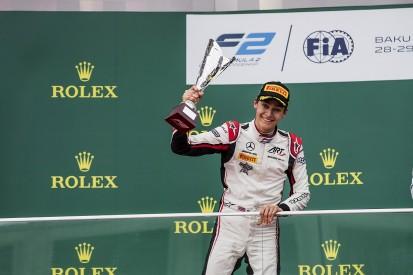 Baku Formula 2: Mercedes F1 junior George Russell gets first win