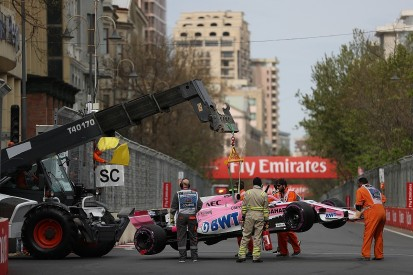 Esteban Ocon critical of Kimi Raikkonen over Azerbaijan GP contact