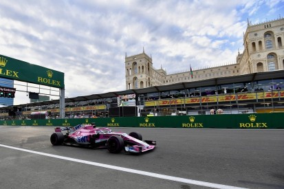 Sergio Perez's Baku podium in doubt over possible improper DRS use